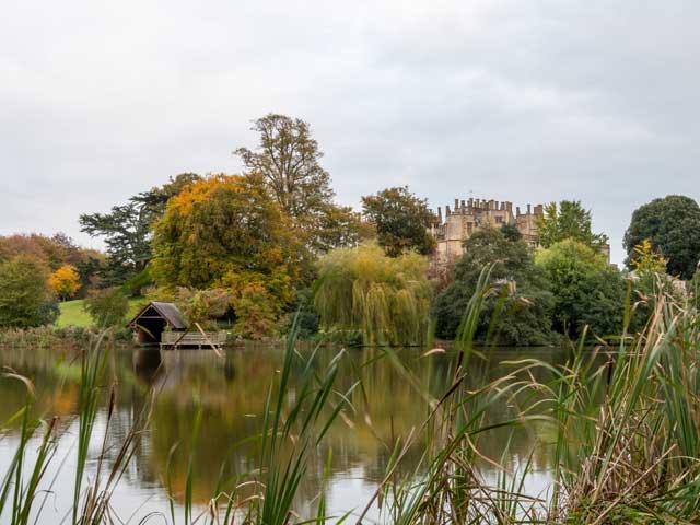 Visit Sherborne Castle from The Trooper Inn campsite