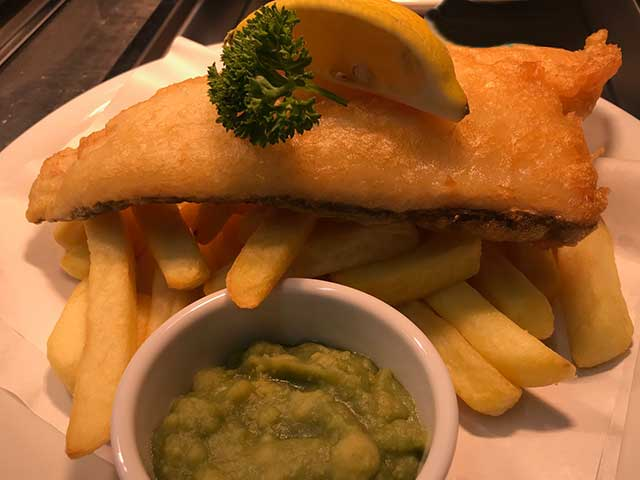 Friday Fish and Chips at The Trooper Inn