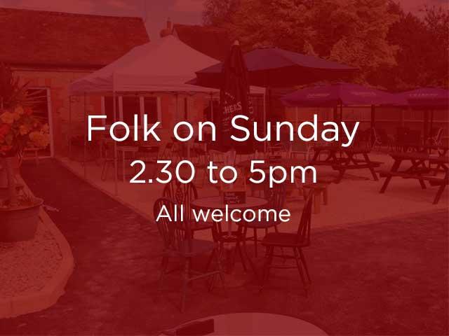 Folk On Sunday at The Trooper Inn, Stourton Caundle