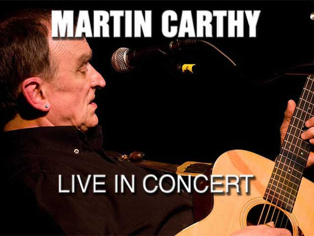 Martin Carthy - In Concert at the Trooper Inn Old Barn