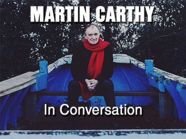 Martin Carthy - In conversation at the Old Barn, Stourton Caundle