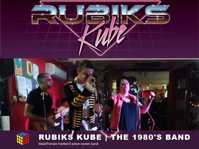 New Years Eve Party with Rubik's Kube